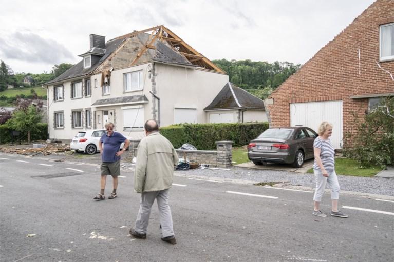 IN BEELD. Tornado veroorzaakt veel schade in Wallonië