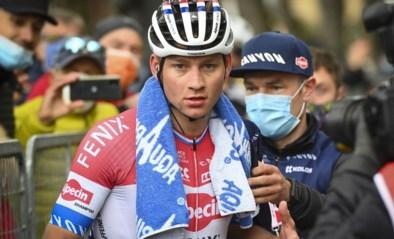 Topfavoriet Mathieu van der Poel geeft op in Nederlands kampioenschap wielrennen