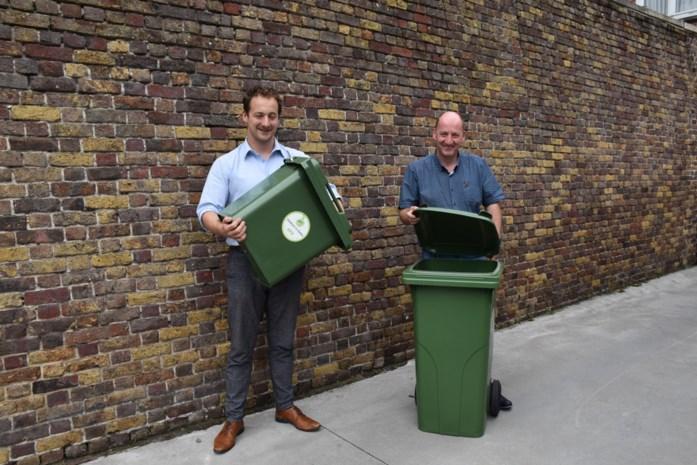 Stadsbestuur tevreden over nieuwe afvalophaling met gft-containers