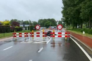 Postelsesteenweg afgesloten voor herstellingswerken zinkgat