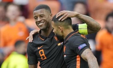 Oranje op dreef: met 9 op 9 naar volgende ronde dankzij twee goals Wijnaldum