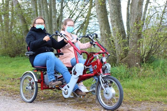 De Vierklaver lanceert deelsysteem voor aangepaste fietsen