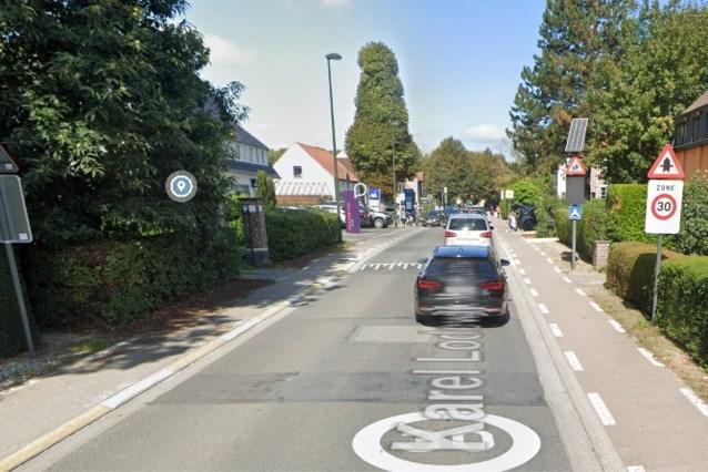 In deze zone 30 rijdt bijna 70 procent van de bestuurders te snel