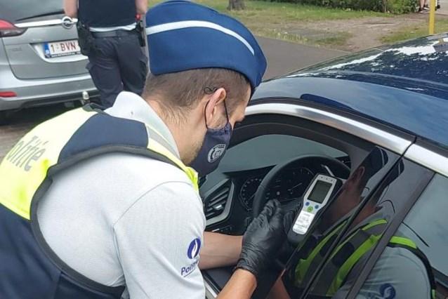 8 dronken bestuurders en 3 onder invloed van drugs tijdens weekend zonder alcohol en drugs in verkeer