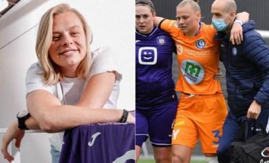 Zware blessure of niet: Red Flame Ella Van Kerkhoven keert terug naar Anderlecht