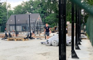 Buurt ergert zich aan nieuwe padelpleinen in Genk-Centrum