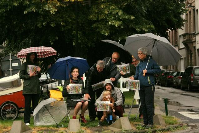 Bewoners protesteren tegen nieuwe inrichting Victor Jacobslei