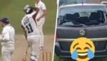 "Cricketspelende taxichauffeur vernielt eigen auto: ""Dacht dat het een goede parkeerplek was"""