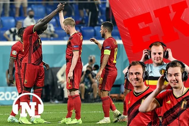 """SJOTCAST EK #11. """"1 op 6 goals van Romelu Lukaku kwam er na een assist van Kevin De Bruyne: dan heb je een EK-winnend duo in handen"""""""