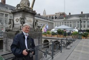 """Protest tegen restaurant op grote hoogte in hartje Brussel: """"Dineren op een kerkhof is misplaatst"""""""