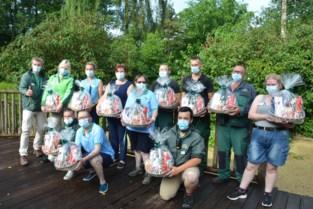 Onderhoudsmedewerkers Bellewaerde krijgen cadeau en hulp directie