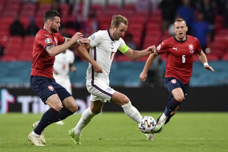 Engeland zonder glans richting groepswinst en 1/8ste finales op het EK