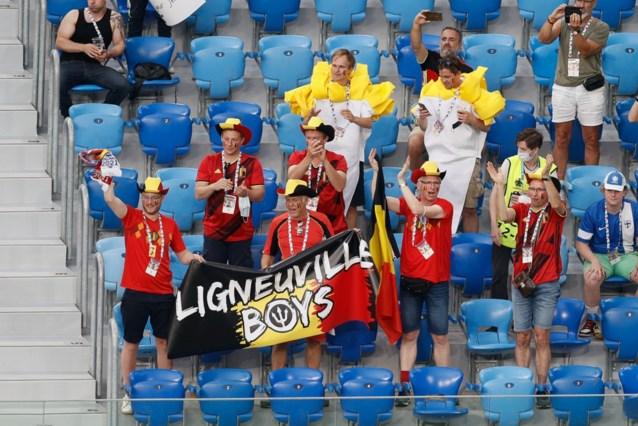 En plots supportert half Europa voor de Rode Duivels tegen Finland