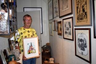 Hallentorens met Suske en Wiske of in Delfts porselein: deze Tieltenaar verzamelt àlles van zijn geliefde stad