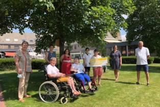 Wit-Gele Kruis schenkt mooie som aan voorziening voor mensen met een beperking