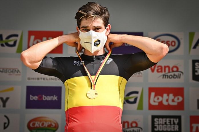 """De Tour-plannen van Belgisch kampioen Van Aert uit de doeken: """"Voor het sleurwerk bergop rekenen we niet op Wout"""""""