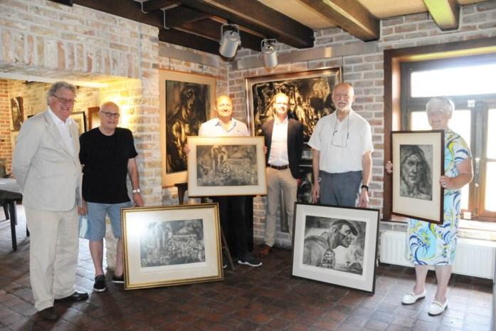 Schenking vier kunstwerken Anto Diez