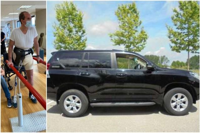 """Auto gestolen met op maat gemaakte beenprothese op achterbank: """"Geef alstublieft mijn been terug!"""""""