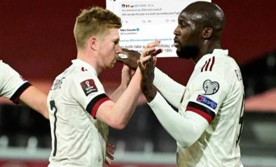 """Romelu Lukaku op Twitter: """"Ik zou Kevin De Bruyne graag meenemen naar Anderlecht"""""""