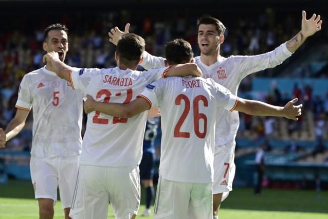 Spanje na blunder van Dubravka met ruime cijfers voorbij Slovakije naar volgende ronde
