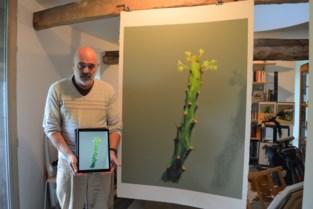 De tablet is machtiger dan het zwaard: William (62) publiceert boek met digitale kunst
