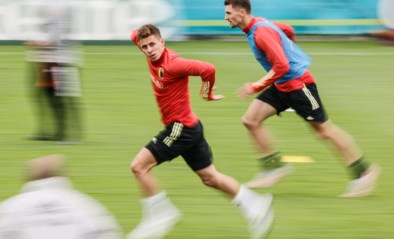 Thorgan Hazard traint opnieuw mee, basisspelers krijgen rust