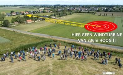 """Bewoners vechten voor vierde (!) keer tegen windmolen van meer dan 230 meter hoog: """"Al 1.300 bezwaarschriften verzameld"""""""