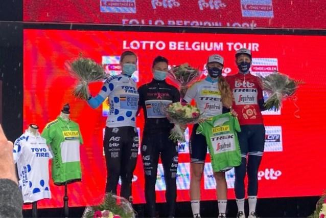 Ellen van Dijk wint proloog Lotto Belgium Tour
