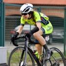 Naomi De Roeck koerst nog maar vier jaar.