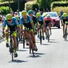 Thomas Vuerinckx moest in Tielt-Winge in de spurt voor de derde plaats zijn teamgenoot Milan De Ceuster voor laten gaan.