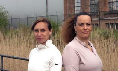 Ex-atletes Kim Gevaert en Laurence Rase geven je zelfvertrouwen voor het lopen een boost met de 'combat warm-up'