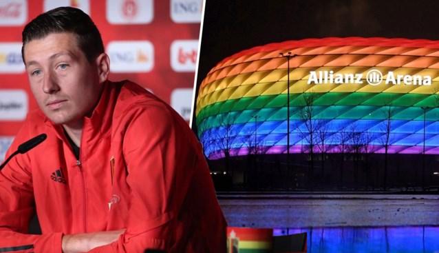 Voetbalwereld keert zich tegen UEFA na verbod op regenboogkleuren, ook Rode Duivels maken statement