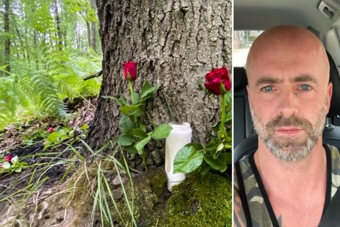 Afscheid van Jürgen Conings en herdenking in bos onder politiebegeleiding, extra manschappen staan klaar