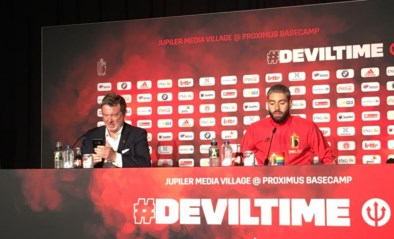 """RODE DUIVELS LIVE. Iedereen aanwezig op training, Carrasco en Alderweireld hebben geen schrik: """"Portugal zal zich moeten aanpassen"""