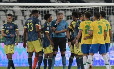Brazilië boekt in Copa America in 100ste minuut zege tegen Colombia na gelijkmaker die er nooit had mogen zijn