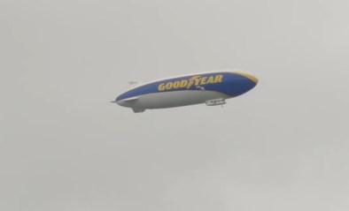 Uniek zicht: zeppelin gespot boven Limburg