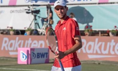 Oostenrijkse topper Dominic Thiem moet geblesseerd passen voor Wimbledon