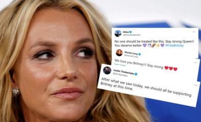 """De emotionele getuigenis waarmee Britney Spears een stoet sterren achter zich kreeg: """"Ik mag zelfs niet beslissen over mijn spiraaltje"""""""