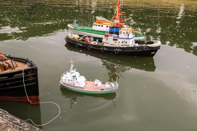 Modelbootbouwers moeten vijver op Linkeroever verlaten