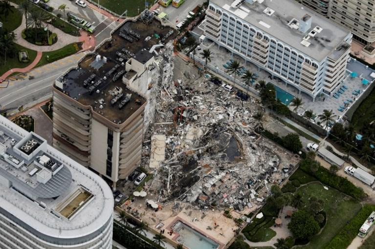Balans in Miami loopt op na instorting appartementsgebouw: minstens vier doden en 159 vermisten