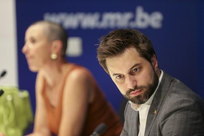 Weer conflict op komst met federale regering en weer is MR-voorzitter Georges-Louis Bouchez erbij