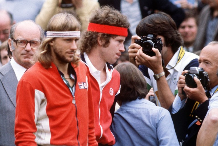 """Er stond opnieuw een Borg op het gravel van Roland Garros: """"Ik voel geen extra druk vanwege mijn achternaam"""""""
