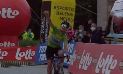 Ritzege en eindwinst Lotte Kopecky in Belgium Lotto Tour