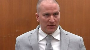 George Floyd. Joe Biden spreekt van een terechte straf voor ex-agent Derek Chauvin