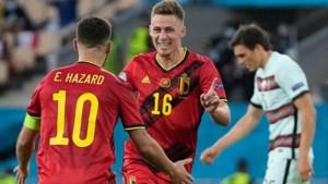 Drie conclusies uit de eerste helft tussen België en Portugal: sleutelrol voor Thorgan, spelbreker Palhinha