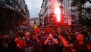 Na winst Rode Duivels: Feestvreugde in Leuven, sfeer wordt grimmig in Brussel