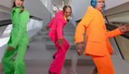 Trends voor mannen: felle kleuren en fluokostuums