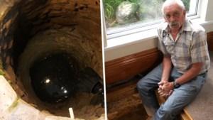 """Man (70) ontdekt middeleeuwse put onder woonkamer: """"Vreesde eerst dat het een lijk was"""""""