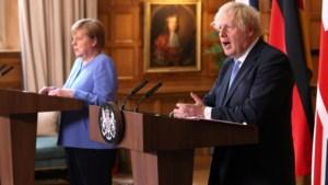 Bondskanselier Merkel gelooft in pragmatische oplossingen voor grensgeschil EU en VK