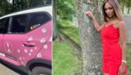 """Roze wagen van Miss België gevandaliseerd: """"Avond ervoor nog gezegd dat ik er bang voor was"""""""